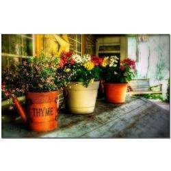Lois Bryan The Porch Swing Canvas Art