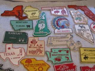 Souvenir State Refrigerator Magnets Magnetic Collectibles FAB