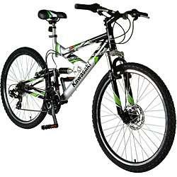 Kawasaki 26 inch Dual Suspension Mountain Bike