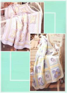 Baby Afghan Crochet Patterns Butterflies, White Lace++ |