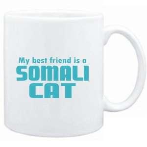 Mug White  MY BEST FRIEND IS a Somali  Cats