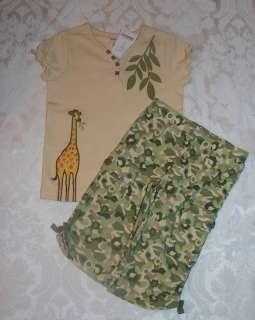 Gymboree SAVANNA SUNSET Top Camouflage Pants Set NWT