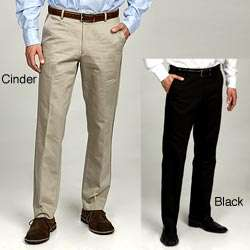 Calvin Klein Mens Lux Cotton/Linen Blend Pants
