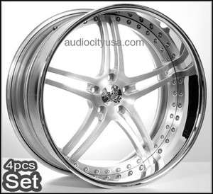 Forged 3Pc Wheels Rims, For BMW Mercedes,Camaro,Audi,Lexus
