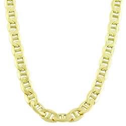 14k Yellow Gold 24 inch Mariner Chain