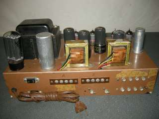 1960S VINTAGE REALISTIC STA 24 STEREO TUBE AMPLIFIER 6V6PP