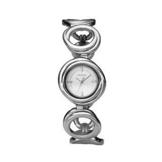 Fossil Womens ES2501 Silver Stainless Steel Quartz Watch