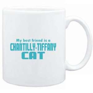 Mug White  MY BEST FRIEND IS a Chantilly Tiffany  Cats