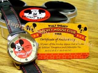 WALT DISNEY 1955 Mickey Mouse Club ladies wrist watch