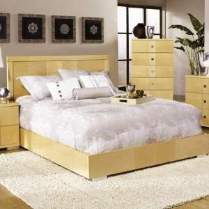 Bellissimo Headboard Size King, Finish Maple