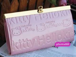 Hello kitty imitation Leather purse long wallet bag #7P