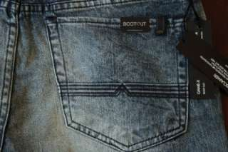 New With Tags Buffalo GAME X Boot Cut Denim Jeans for men