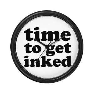 Get Inked Designer BESTSELLER Tattoos Wall Clock by