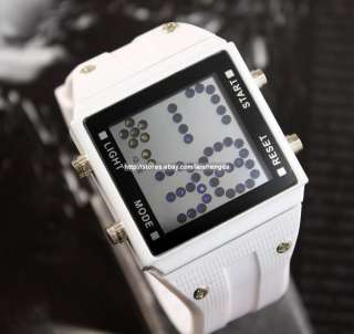 MENS LADYS Luxurious Crystal Digital LED WRIST WATCH
