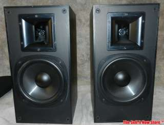 SB 3 SB3 Bookshelf Speakers Surround Sound Home Theater w/ wallmounts