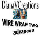 WIRE WRAP 2 ,Jewelry DVD tutorial,100 min, intermediate