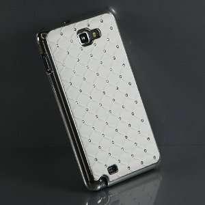 White / Rhinestone Hard Case / Cover / Skin / Shell For
