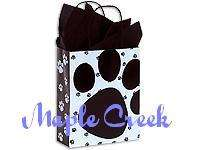 PAW PRINT Gloss Paper Gift Bags Set of 10 GREAT PRICE
