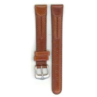 Genuine Wenger Watchband, Ladies, Brown, Genuine Leather, 14MM, Water