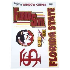 FLORIDA STATE SEMINOLES OFFICIAL LOGO 11X17 ULTRA DECAL WINDOW CLING