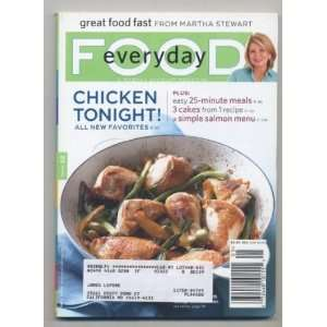 Food Magazine, Issue #62, May, 2009 Martha Stewart  Books