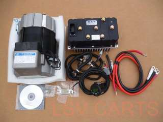 48 Volt AC Conversion Kit Club Car ds iq Precedent 48v Motor