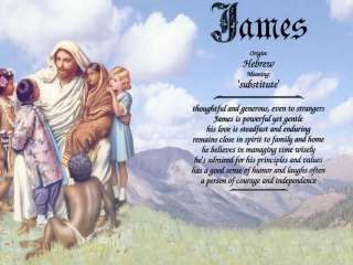 All Gods Children Name Meaning Prints Personalized (Religious