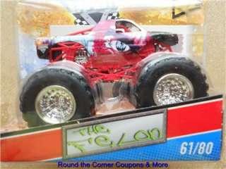2011 HOT WHEELS Monster JAM #61 THE FELON TRUCK 1/64