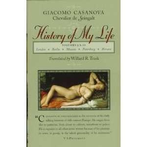 History of My Life, Vols. 9 & 10 [Paperback] Giacomo