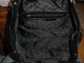NEW Michael Kors Astor Large NS Tote Black Leather Handbag 100%