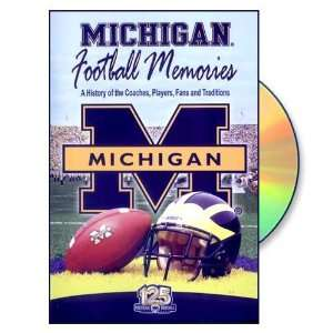 Michigan Wolverines Football Memories DVD  Sports