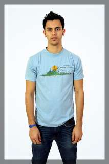 80s Arizona Pinetop Lakeside Scenic Blue T Shirt M Medium