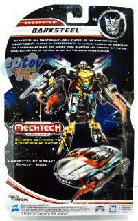 Transformers Movie 3 Mechtech Deluxe Darksteel Japan Ver. Figure