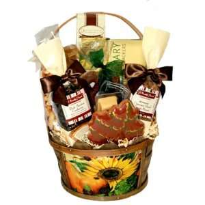 Harvest Blessings Gift Basket:  Grocery & Gourmet Food