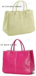 Women Clutch Handbag Bag Totes Purse Hobo PU Leather 12 colors