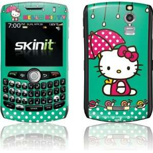 Hello Kitty Polka Dot Umbrella skin for BlackBerry Curve