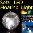 2x Swimming Pool Ball Solar Powered Floating LED Landscape Light Multi