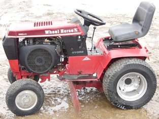 Wheel Horse 520 H Tractor Onan P220G I 20hp Engine   runs