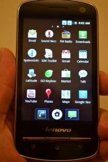 New Unlocked Lenovo A60 Android 2.3 Dual SIM Card Smart Phone 3.5