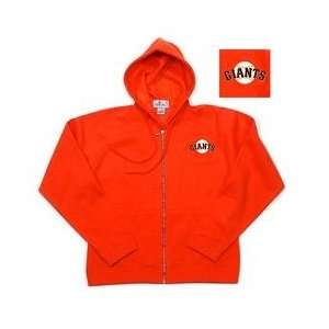 San Francisco Giants Womens Zip Front Hoody by Antigua
