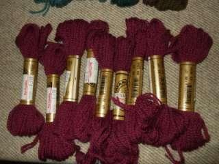 DMC Embroidery Thread /Floss  Cross stitch Thread  Lot of 121