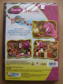 Barney and Friends World of Friendship Brand NEW DVD