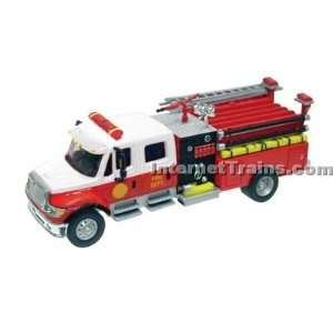 Boley HO Scale International 7000 2 Axle Crew Cab City Fire