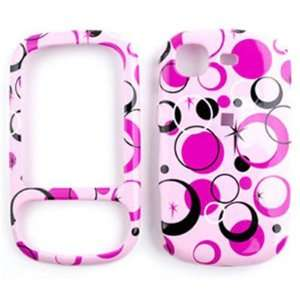 Samsung Strive A687 Colorful Circles on Pink Hard Case/Cover/Faceplate