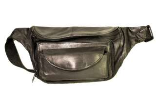 FANNY PACK WAIST WALLET WITH EYE GLASS HOLDER NEW BLACK