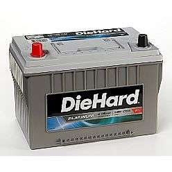 Price with Exchange)  DieHard Automotive Batteries Car Batteries