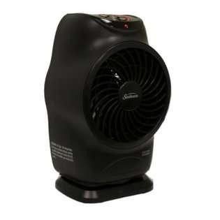 SUNBEAM SFH613 LCD Electric Fan Forced Portable Heater Oscillation