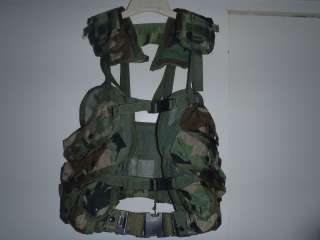 US Military Tactical Vest Field Gear Complet With Belt