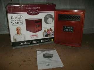 TRUMAN 1500W ELECTRIC INFRARED HEATER MODEL 1500IRWR