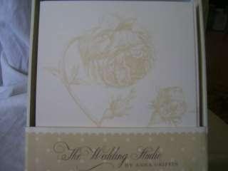 Cream Floral Rose Wedding Kit Invitation Kit~50/50/50